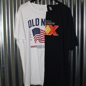Other - custom dual t-shirt size L/XL